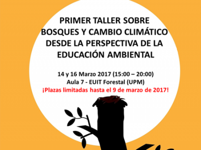"""Primer Taller local de Educating on """"Climate Forests"""""""