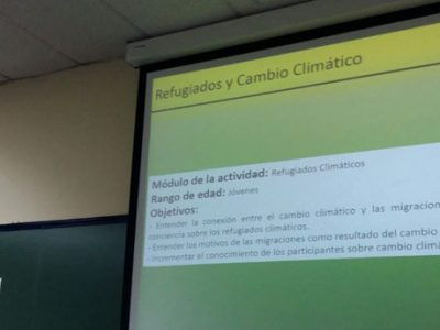 """Primer Taller Educating on """"Climate Forests"""""""
