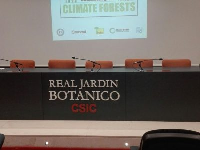 "Clausura del Proyecto  Educating on ""Climate Forests"""