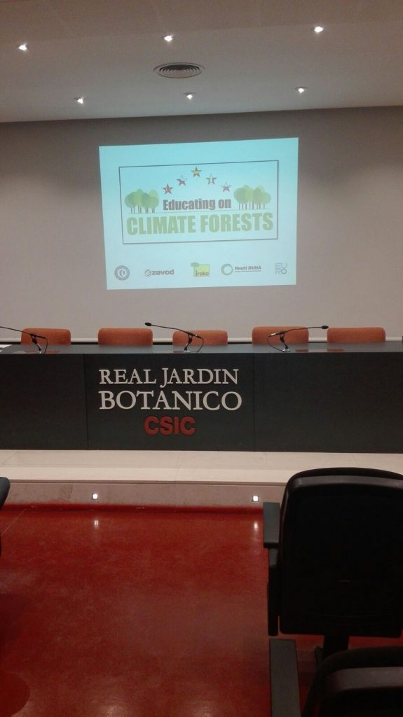 Educating on Climate Forests
