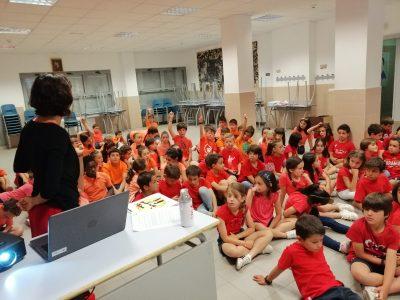 El Agua de Afi en el colegio Montesclaros