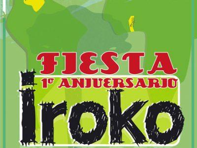 Fiesta primer aniversario de Iroko DFS