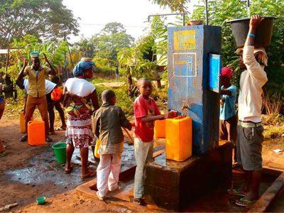 Vuelven las voluntarias de Togo