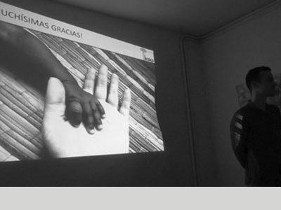 Presentación de la ONG Iroko DFS en La Ciudad Invisible