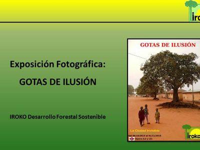 """Exposición fotográfica """"GOTAS DE ILUSIÓN"""" en La Ciudad Invisible"""
