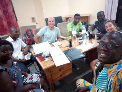 Nuestros voluntarios cooperantes ya están en Togo
